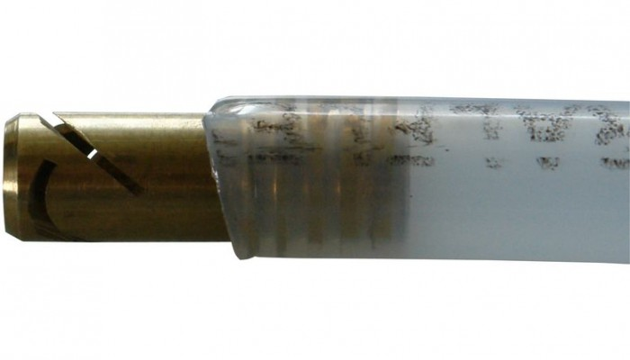 """Pistolet à corps creux embout laiton 1/4"""" cachetage"""