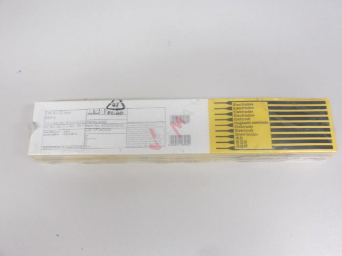 Électrode enrobée ESAB OK 43.32 - 2,0/300 mm - 180 pièces