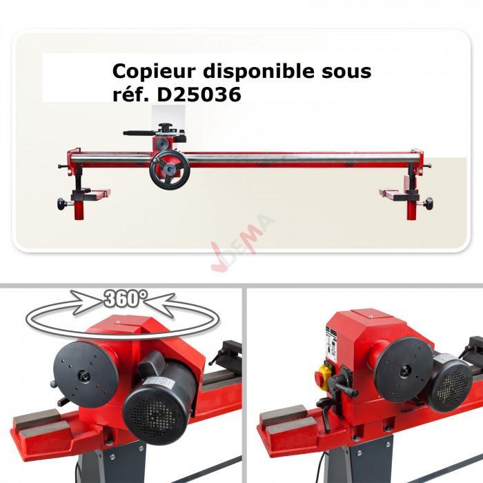 Tour à bois - MC 850 - 850 mm - 230 V