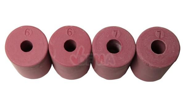 Buses de sablage pour sableuse 2 x Ø 6 - 2 x Ø 7 mm lot de 4