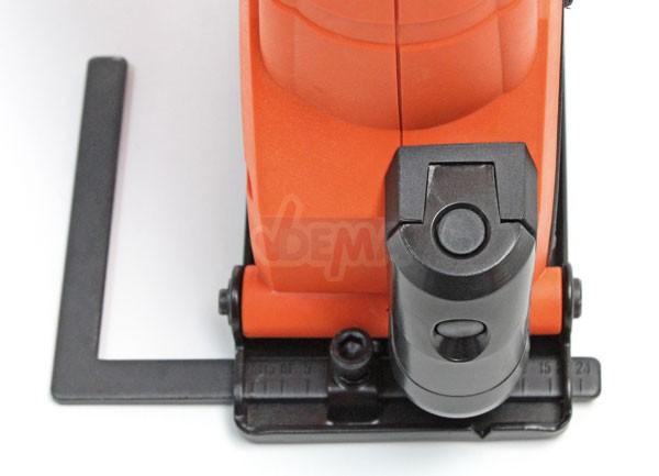 Mini scie à main - guidée Laser - 220 V - 24 mm profondeur de coupe