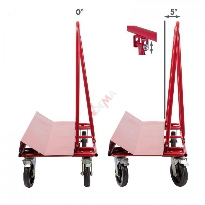 Chariot PW700 spécial transport panneaux - Charge maxi 250 kg