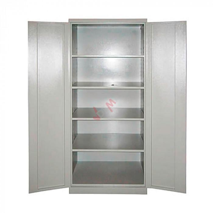 armoire de rangement grise 780 x 580 x 1920 mm mobilier d 39 atelier. Black Bedroom Furniture Sets. Home Design Ideas