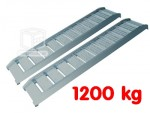 Rampes de chargement - déchargement Alu - Charge 1200 kg
