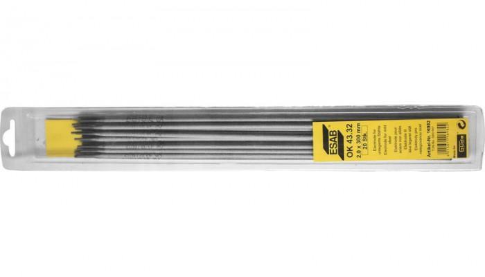 Électrode enrobée ESAB OK 43.32 2,0/300 mm - 20 pièces