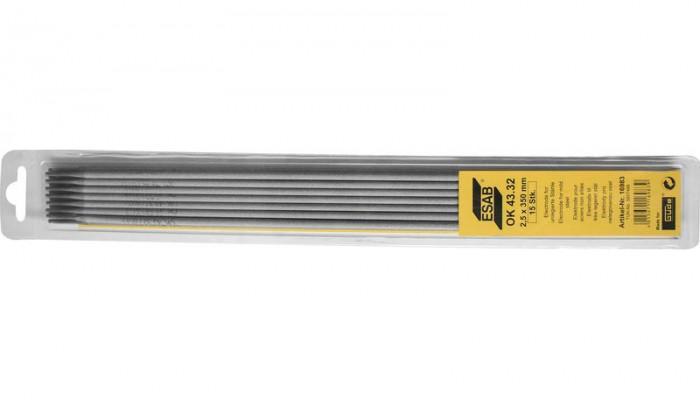 Électrode enrobée ESAB OK 43.32 2,5/350 mm 15 pièces