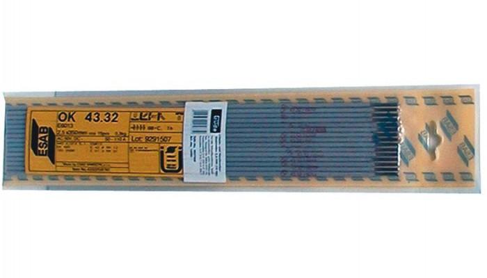 Électrode enrobée ESAB OK 43.32 3,2/350 mm 12 pièces