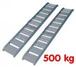 Rampes de chargement - déchargement Alu - Charge 500 kg - la paire