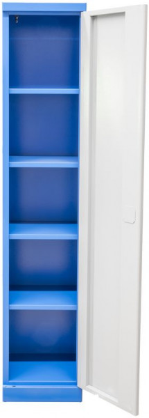 Armoire haute 1920 x 380 x 380 mm - 4 étagères - Made in Europe -
