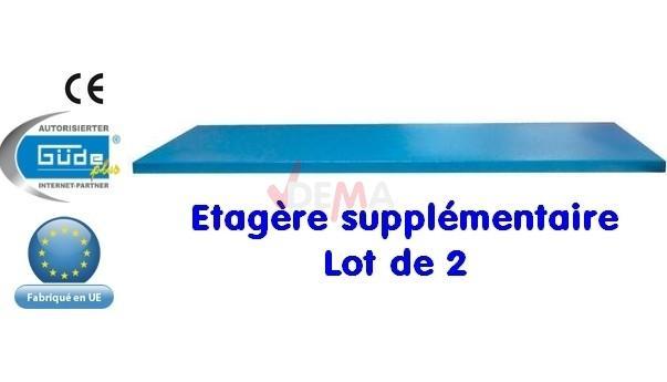 Etagères supplementaires pour G40677 - LOT DE 2