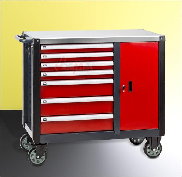 Servante mobile 7 tiroirs + porte