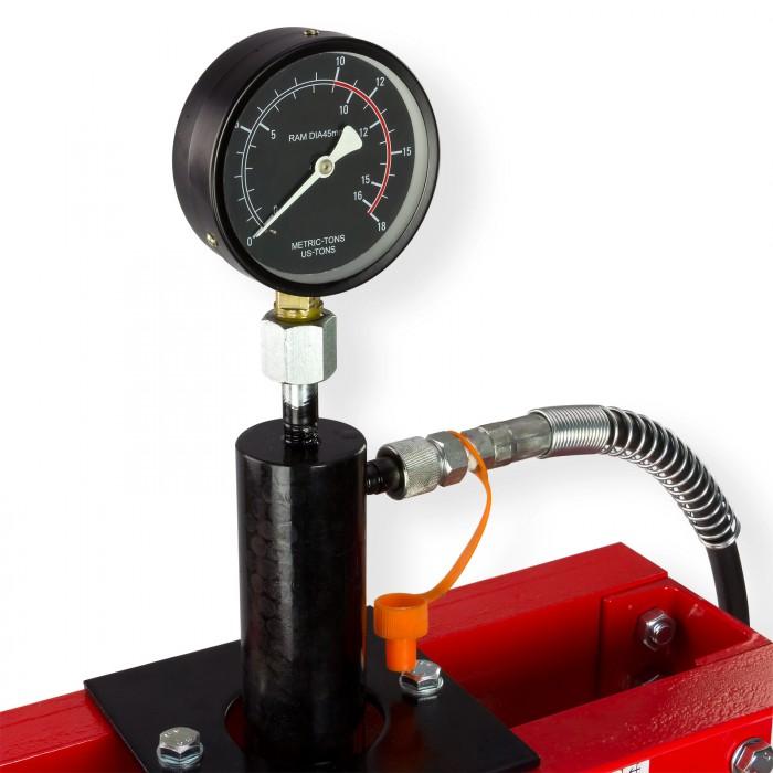 Presse d'atelier hydraulique 10 T avec mano  - WP10HM
