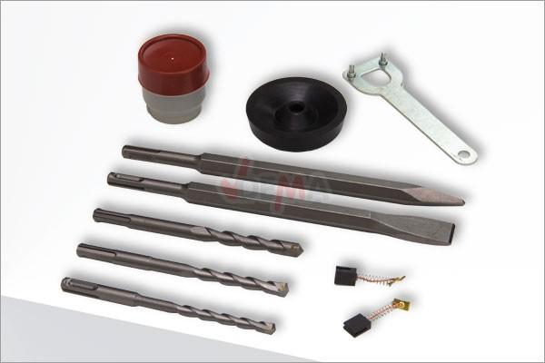 Marteau burineur perforateur DH36 5 joule + accessoires R+L