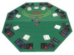 Tapis poker 8 joueurs +  sac de transport