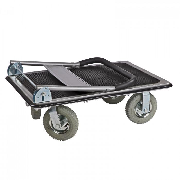 Chariot de manutention XL - charge maxi 300 kg - roues gonflables