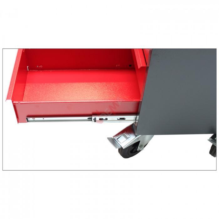 Établi mobile - Servante - 6 tiroirs 1 porte - 1020 x 595 x 930 mm