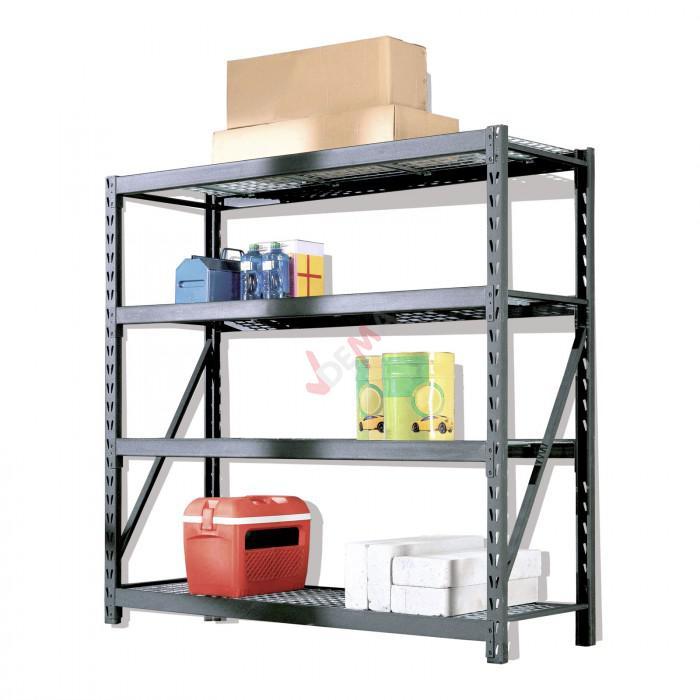 rayonnage galvanis etag re pour charge lourde 900 kg d19995 ebay. Black Bedroom Furniture Sets. Home Design Ideas