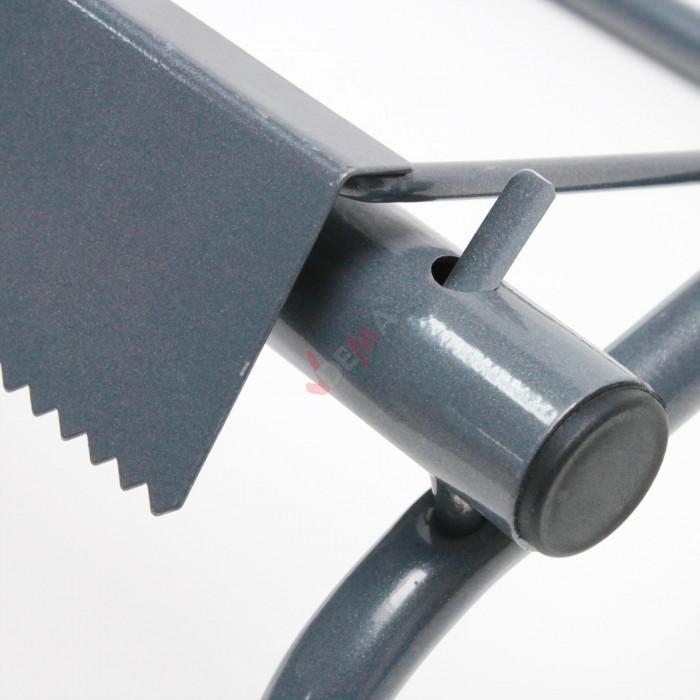 Dévidoir métal support essuie main rouleau largeur 400 mm