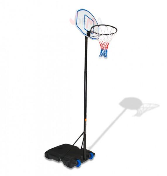 Jeu de basket avec support réglable hauteur maxi 2480 mm