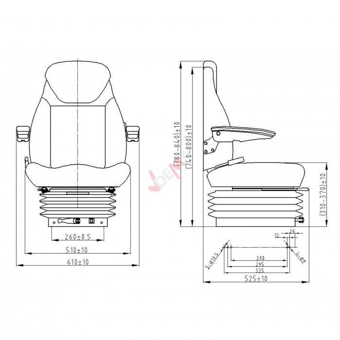 Tracteur Si/ège TS 130/AK