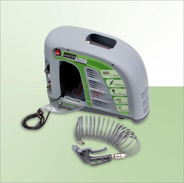 Set complet compresseur AIR JET sans réservoir 8 bar 1100 W + acc