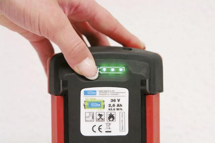 Batterie de remplacement LI-ION 36 V - LI-ION - 2,6 Ah