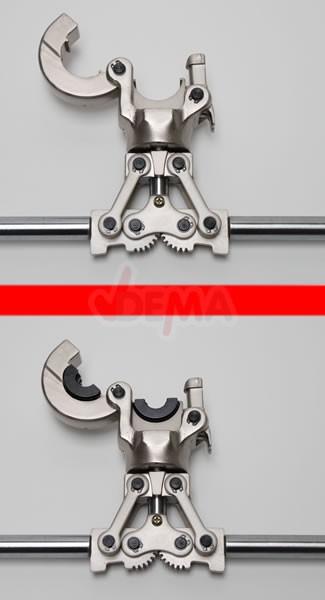 Pince à sertir pour tuyau PER et PEX de 16 à 32 mm