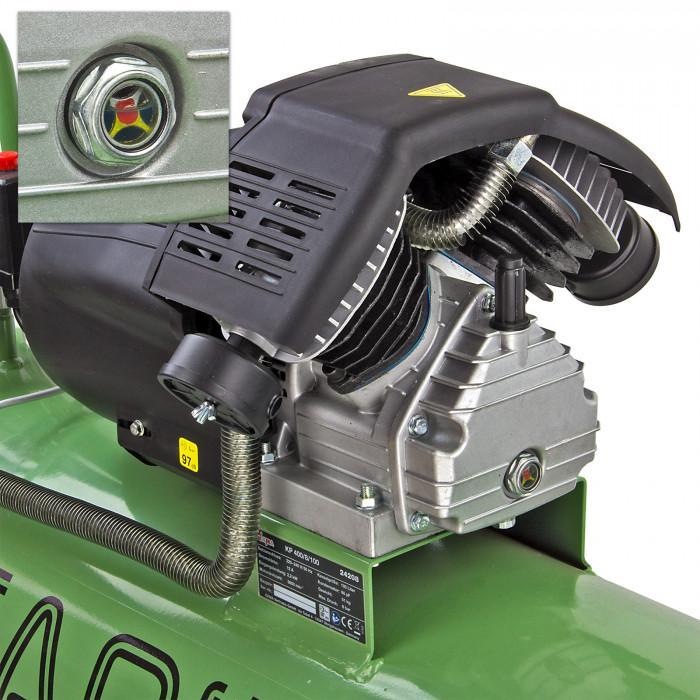 Compresseur 100 L - 230 V - 2 cylindres en V - 400/8/100