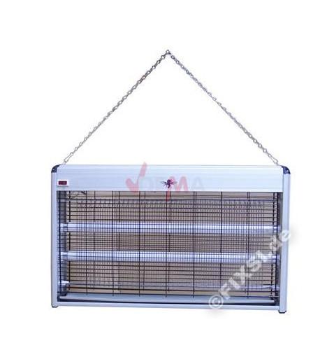 Destructeur insecte mouche moustiques UV 2x12 V sans produit néfaste