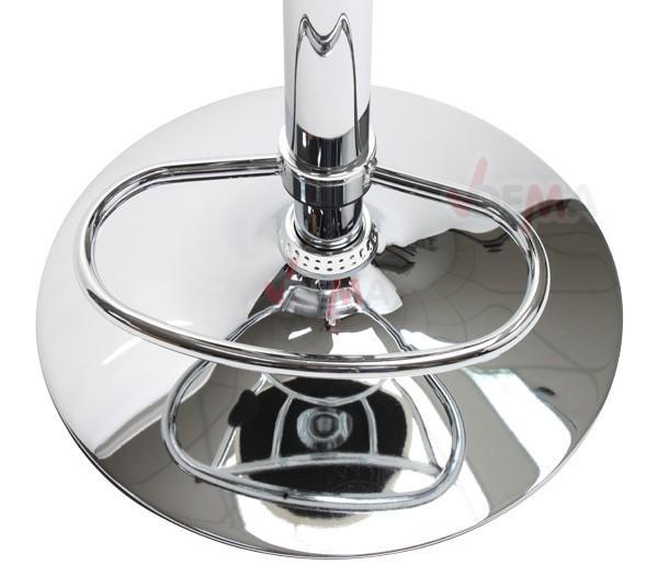 Tabouret bar table haute cr me r glable de 630 850 mm for Housse pour tabouret de bar