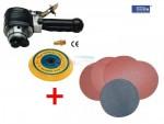 Ponceuse excentrique pneumatique - disques + velcro