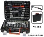 """Coffret douilles + accessoires VT91 - 1/2"""" - VINTEC"""