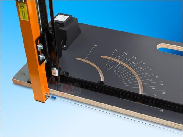 Machine de découpe de polystyrène  SC 2000 à fil chaud