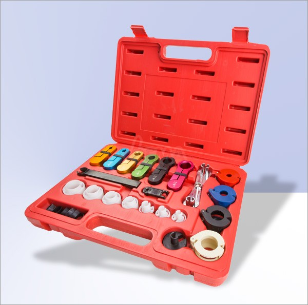 Set outils raccord climatisation et essence - Spring-Lock - 22 pc