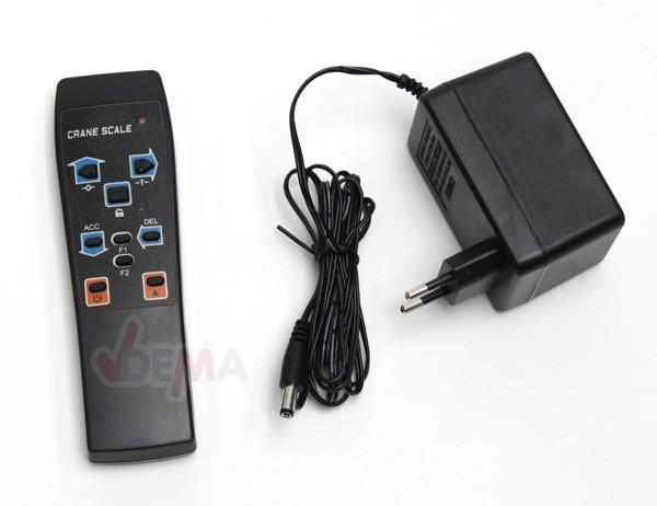 Palan peseur digital avec télécommande - 1 T