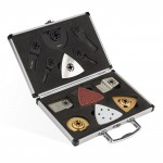 Coffret 30 pcs - accessoires pour outil multifonctions et universel