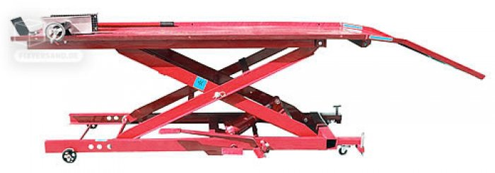 pont l vateur moto 450 kgs table 1820 mm levage traction. Black Bedroom Furniture Sets. Home Design Ideas