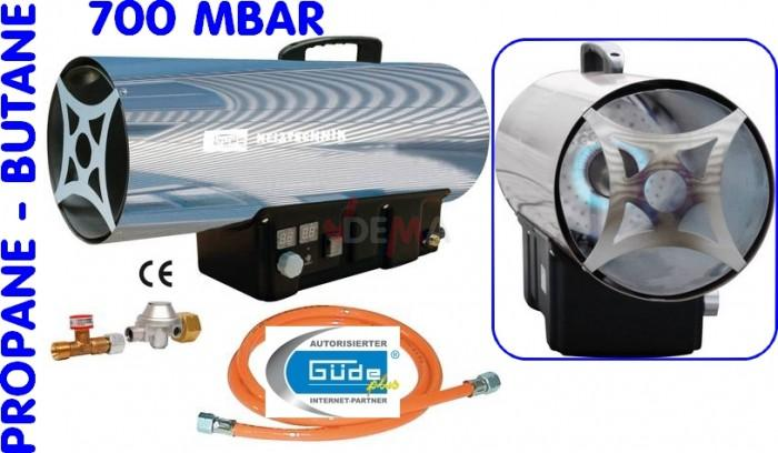 Chauffage d'atelier - Canon de chauffage canon à air propane-butane GG