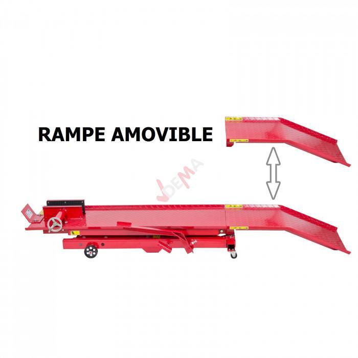Pont élévateur moto de petite cylindrée/scooter - Table 1400 mm