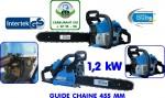tronconneuse thermique KS400BW guide 45 cm 37cc garantie 2 ans NEUF
