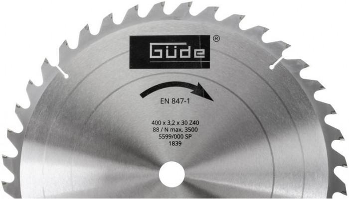 Lame de scie au carbure pour scie à bûches G01841 et G01871