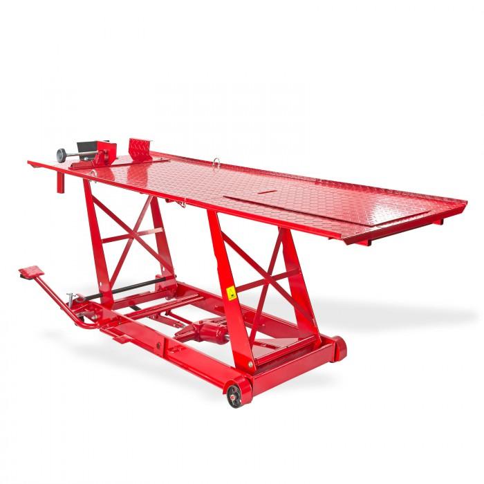 pont l vateur moto longueur de table 2200 mm levage traction. Black Bedroom Furniture Sets. Home Design Ideas