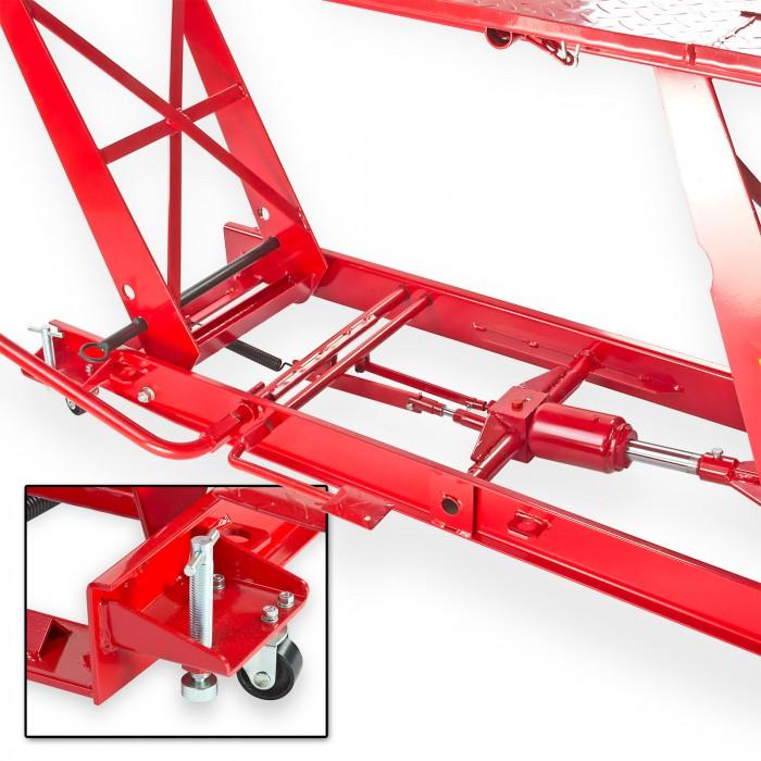 Pont l vateur moto longueur de table 2200 mm levage - Table verin hydraulique ...