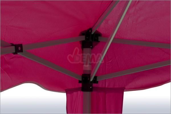 Tonnelle pliante / pavillon pliable 3x3 m  Couleur Bordeaux*