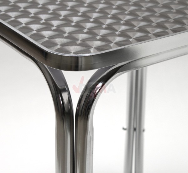 Table de jardin 600 x 600 mm