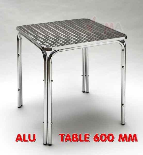 Table de jardin 600 x 600 mm
