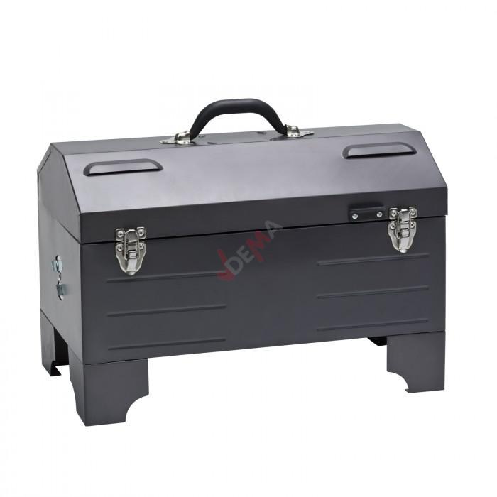 Barbecue BBQ portable charbon/bois Nashville Grill 50x26x36 cm