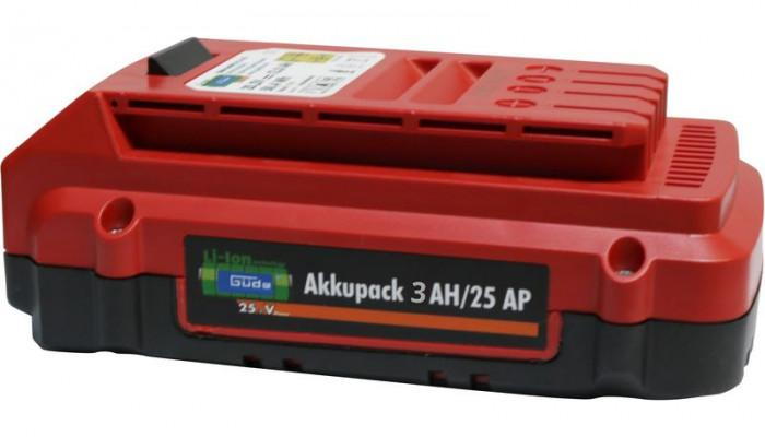 Accu Li-ion 25 V - 3,00 Ah - pour G95685