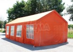 """Pavillon Party """"Profi"""" 4 x 8 m - Couleur Terracotta"""