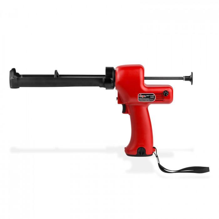 Pistolet à piles silicone 6 V interrupteur sécurité pression 150 KGF